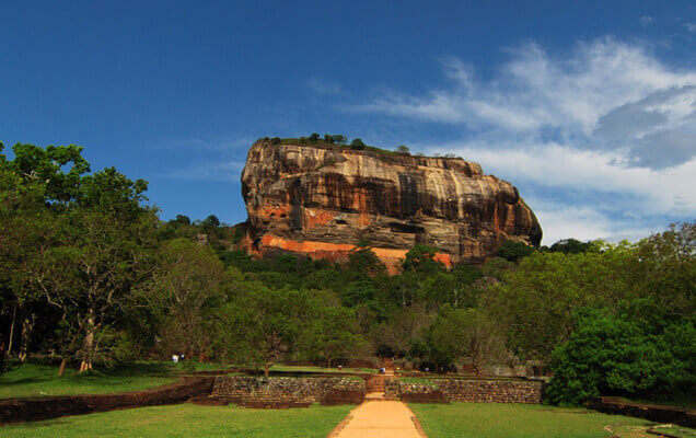 lions rock in Sigiriya